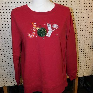 Women's Christmas Sweat Shirt By Holiday Edition